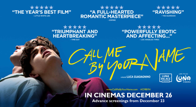 Blockbuster Film Series Call Me By Your Name University Unions