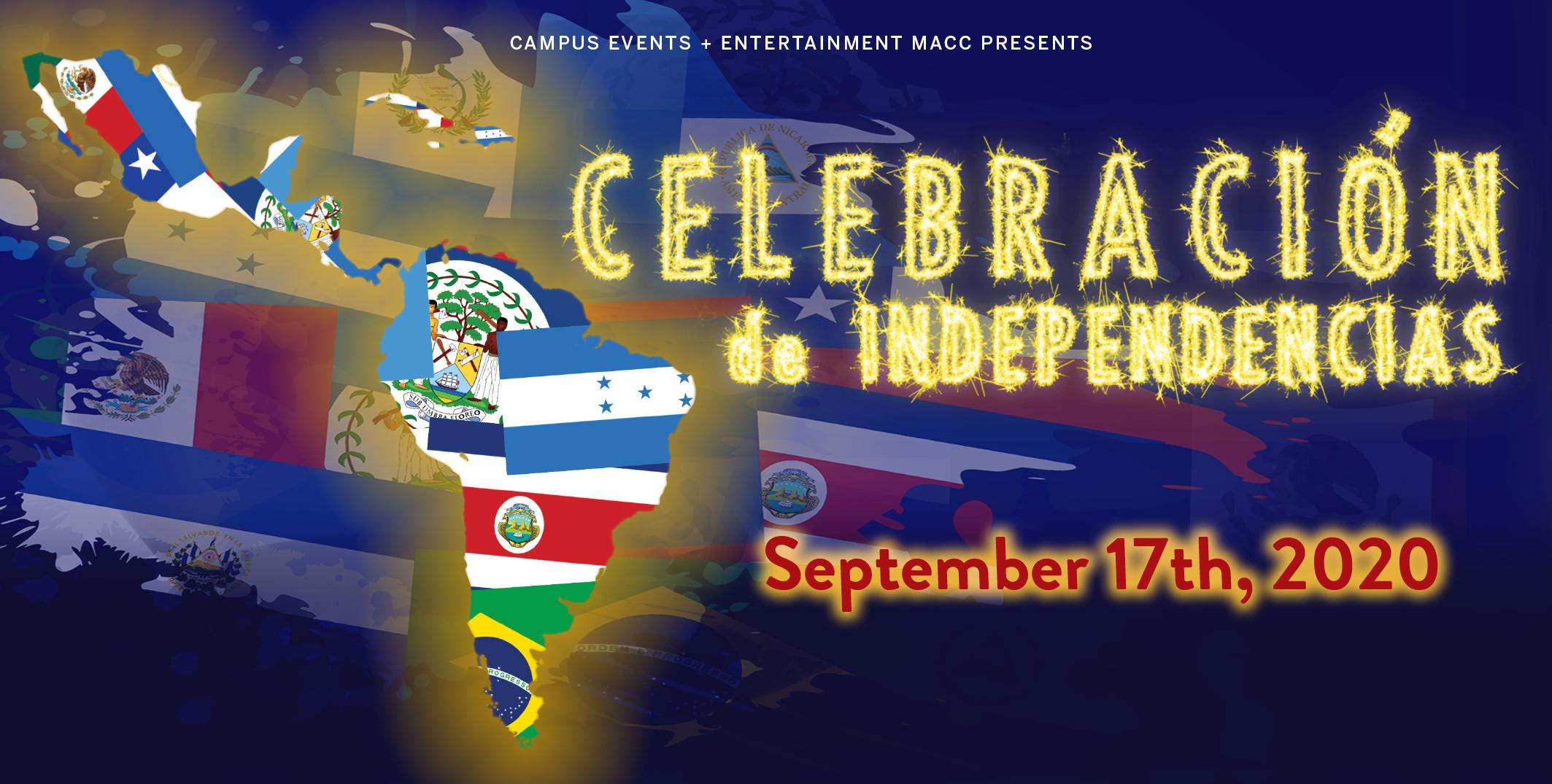 Celebracion will be on September 17 7 pm