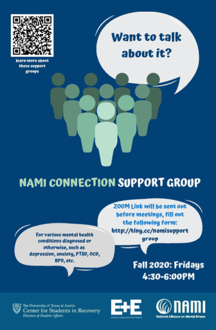 Join ECB and NAMI if you need support this fall for any mental health issues.