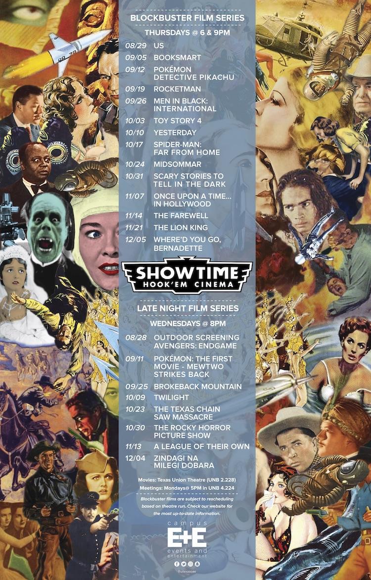 Fall movie lineup