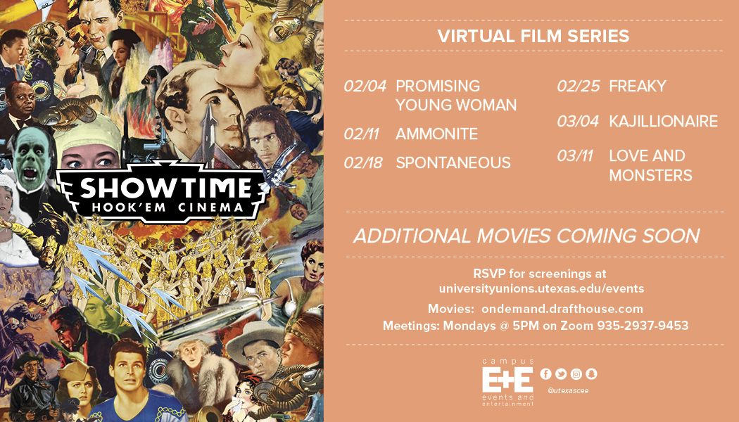 Spring Film Schedule