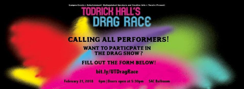Todrick Hall Call for Performers